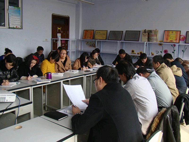信息工程系学习党的群众路线